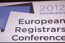 ERC 2012 – European Registrars Conference in Edinburgh