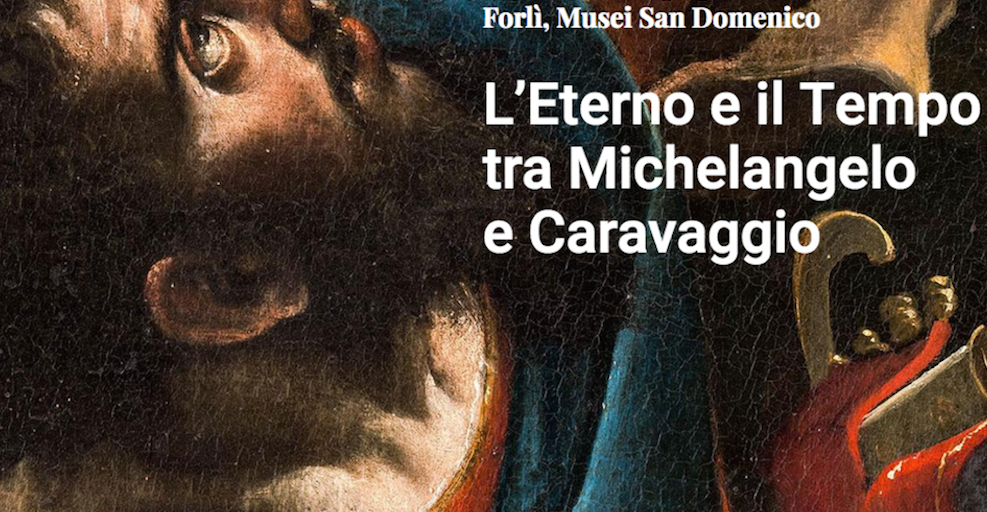 Eternity And Time Between Michelangelo And Caravaggio Interlinea